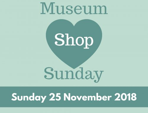 Museum Shop Sunday – 25th November