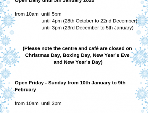 Winter Opening Times