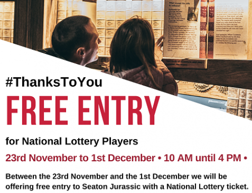 #ThanksToYou- Free Entry for National Lottery Players