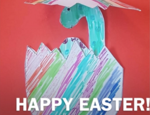 #StayAtHome – Saturday Craft – Dino Egg