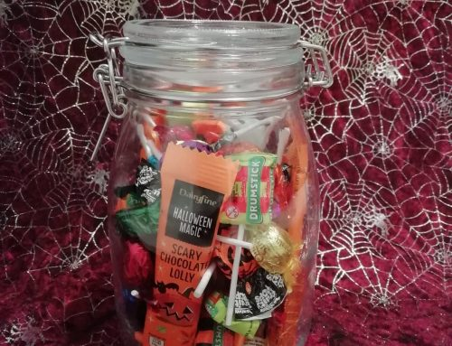 Guess the number of sweets in the jar!